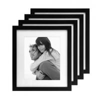 Wholesale International Designs Matted Linear Classic Wood Picture Frame, 8-Inch by 10-Inch, Black, from china suppliers