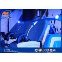 Wholesale Luxury Cinema 9D Virtual Reality Simulator With Blue Leather 6 Seats from china suppliers