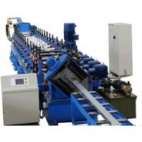 Wholesale Steel Section Profile Roll Forming Machine , Galvanized Light Steel Metal Joist Making Machine from china suppliers
