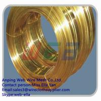 Wholesale Copper flat wire for zipper from china suppliers