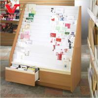 Wholesale Wooden Display Stand For Promotion Of Greeting Card and magazines from china suppliers