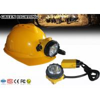 Quality New Design GL12-A IP68 490g Rechargeable LED Headlamp with Three Levels for sale