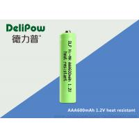 Wholesale SGS NI - MH High Temperature Rechargeable Battery Aaa 600mAh  from china suppliers