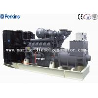 Buy cheap Big Capacity 1688KVA Perkins Diesel Generator, 1350KW 12Cylinders Perkins Generating from wholesalers