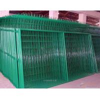 Wholesale Industrial Green Metal Mesh Fencing / PVC coat Welded Mesh Fence Panels from china suppliers