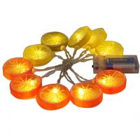 Wholesale Battery powered  lemon slice led fariy string hot summer string from china suppliers