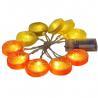 Buy cheap Battery powered  lemon slice led fariy string hot summer string from wholesalers