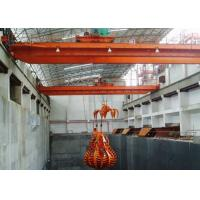 Wholesale 5~20t Grab Bucket Double Girder Overhead Crane , Safety Overhead Bridge Crane from china suppliers