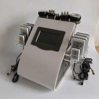 Wholesale rf probe Touch Screen Laser Lipo Cavitation Machine Frequency 5MHz 100KPA Pressure from china suppliers
