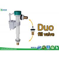 Wholesale POM ABS Side Entry / Bottom Entry Duo Toilet Fill Valve For Diy Market from china suppliers