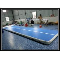 Wholesale Indoor Inflatable Gymnastics Mats , Air Track Tumbling For Training from china suppliers