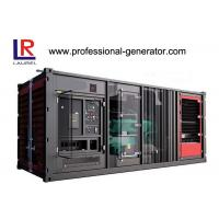 Wholesale Industrial 900kw Soundproof  Container Genset Diesel Generator Plant with Cummins Engine from china suppliers