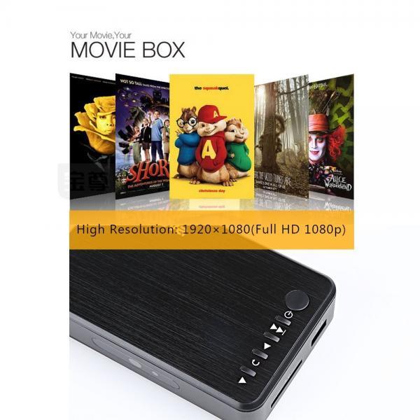 Media Player HDMI VGA Video HDD Player USB OTG SD AV TV