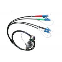 Buy cheap J599 4 Core Military Tactical Fiber Optic Patch Cable TPU tactical fiber optic from wholesalers