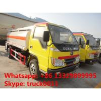 Wholesale forland 4*2 RHD 5000 liters fuel tanker truck for sale, Factory sale best price forland 5m3 oil dispensing truck from china suppliers
