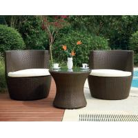 Wholesale Luxury Home Resin Wicker Obelisk Chair With Power Coated Aluminum Frame from china suppliers
