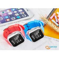 Wholesale Nano Waterproof Child Locator Watch With SOS Alarm / Direct Phone Calling from china suppliers