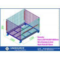 Wholesale Storage Teardrop Steel Wire Cage Unisource Industrial For Logistic Transporting from china suppliers