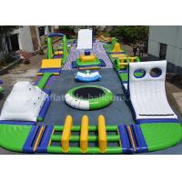 Wholesale Floating Airtight Outdoor Inflatable Water Park With Iceberg And Swing Elements from china suppliers