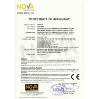 Changshu Kailiou Commercial Equipment Co.,Ltd Certifications