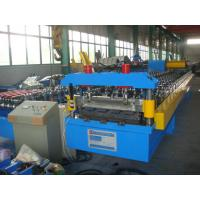 Wholesale Automatic Hydraulic Roofing Roll Forming Machine Deck Panel Line from china suppliers