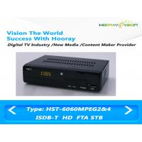 Wholesale MPEG 4 AVC H.264 FTA ISDB-T Set Top Box Dvb T2 With PVR USB Media Player from china suppliers