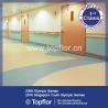 Buy cheap health and antibacterial kindergarten school flooring in roll from wholesalers