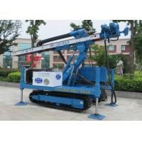 Quality ISO9001 Dth Hammer Anchor Drilling Rig Foundation Piling Machine MDL-135H for sale