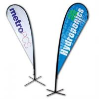 Wholesale No Print Dye Sublimation Digital Printing Fabric Custom Pennants Flag from china suppliers