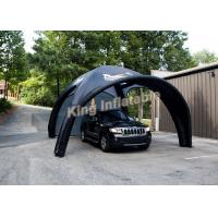 Wholesale Durable Attractive Small Black Inflatable Event Tent for Car Parking from china suppliers