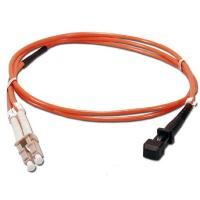 Wholesale Customized MTRJ-LC Duplex Hybrid Fiber Optic Patch Cord MM 50/125um from china suppliers