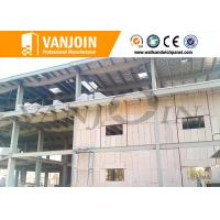 Wholesale Steel structure eps foam panels , concrete soundproof wall panels house solution from china suppliers