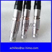 Buy cheap Quick Disconnect Cable Assembly Lemo Straight Plug 7 Pin from wholesalers