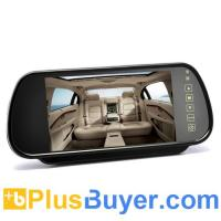 Wholesale 7 Inch Rearview Mirror Monitor (Touch Button Control, Dual Speakers) from china suppliers