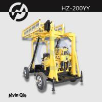 Wholesale portable mobile Hydraulic water drilling machine HZ-200 series drilling rig from china suppliers
