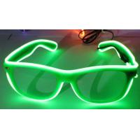 Wholesale Sound Activated El Wire Glasses For Woman , Green Led  Light Up Glasses from china suppliers