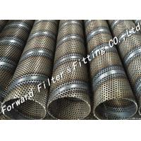 Wholesale Exhaust Stainless Steel Perforated Tube , Round Gas / Liquid Diffusion Tube from china suppliers