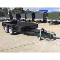 Quality 4500 KG Loading 10x6 Tandem Box Trailer Heavy Duty With Brake for sale
