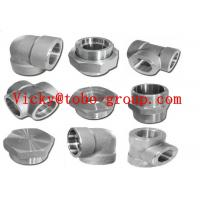 Buy cheap Stainless Steel Pipe Fitting Forged UNS N08800 Threaded 90 Degree Elbow from wholesalers