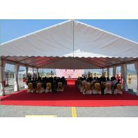 Wholesale 100 People PVC Aluminum Frame Structure Marquee Event Tent Fire Resistant from china suppliers