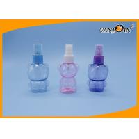 Wholesale 60ml Bear Shaped Plastic Spray Bottle For Floral Water Custom Color from china suppliers