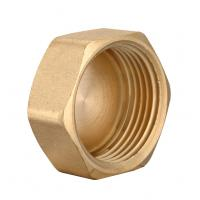 Wholesale brass plumbing fitting cap female from china suppliers