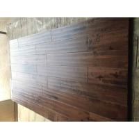 Wholesale Solid Birch Hardwood Flooring, handscraped surface, CD grade, different color stains from china suppliers