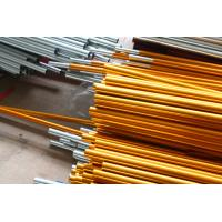 Wholesale Rolled Anodized Aluminium Tube Tensile Strength 524mpa Oxidation Color from china suppliers