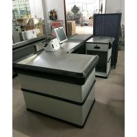 Wholesale Automatic Electric Checkout Counter With Conveyor Belt / Retail Cash Counter from china suppliers