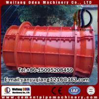 irrigation concrete cement pipe making machine length1-4M