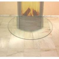 Wholesale CE EN12150 Standard Resistance Glass Hearth Plate 6mm Thickness Tempered High Pressure from china suppliers