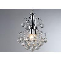 Wholesale Dining Room Modern Pendant Lamp Chrome Crystal 3 Lights With E14 from china suppliers