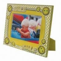 Wholesale Colorful Baby Printable Paper Wrapped Frame, Ideal for Home Decorations and Gift Purposes from china suppliers