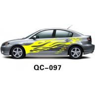 Wholesale Car Body Sticker QC-097E / PVC Water Proof Car Body Sticker from china suppliers